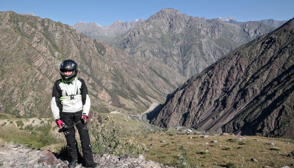 Motocyklem po Kirgistanie i Tadżykistanie.