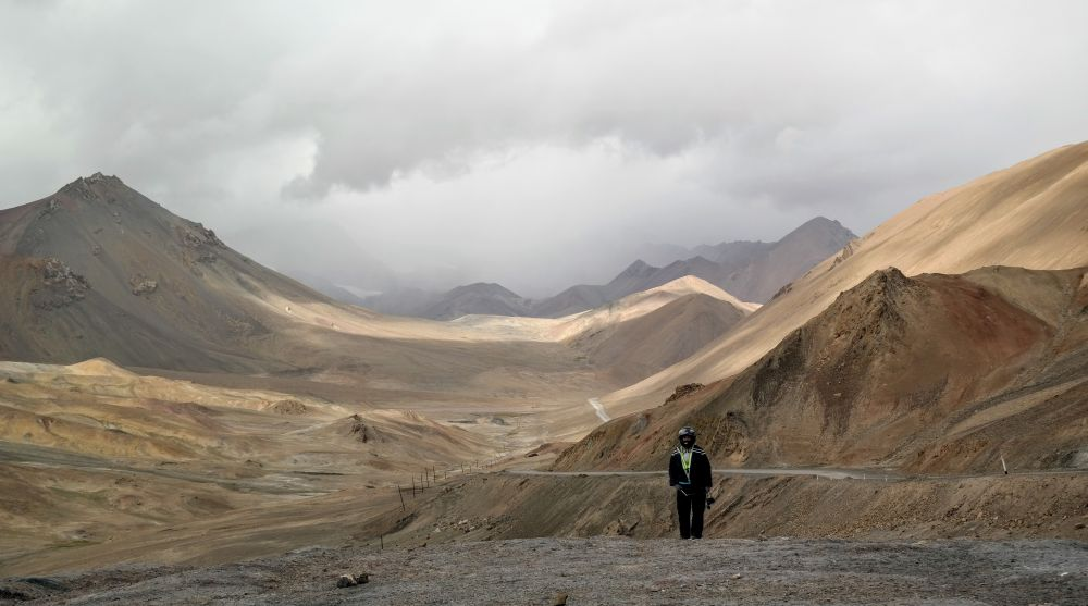 Tadżykistan - Przełęcz Ak Baital 4655 m n.p.m.