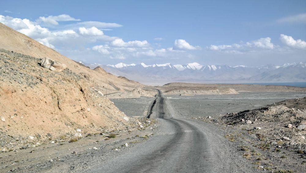 Tadżykistan - autostrada Highway