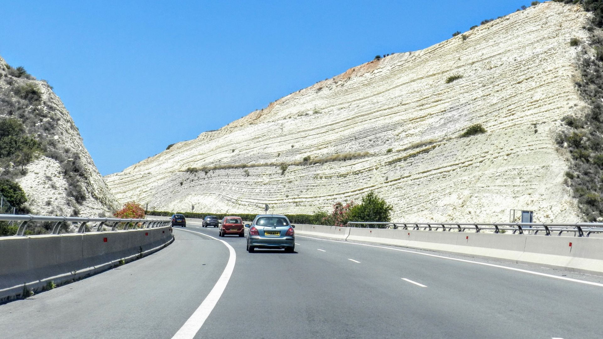 Cypr - w drodze na Blue Lagoon