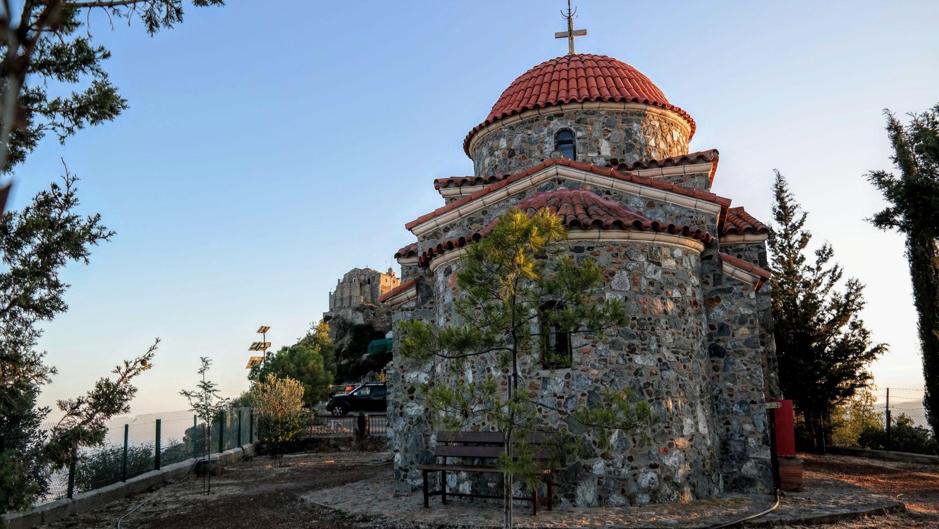 klasztor Stavrovouni.