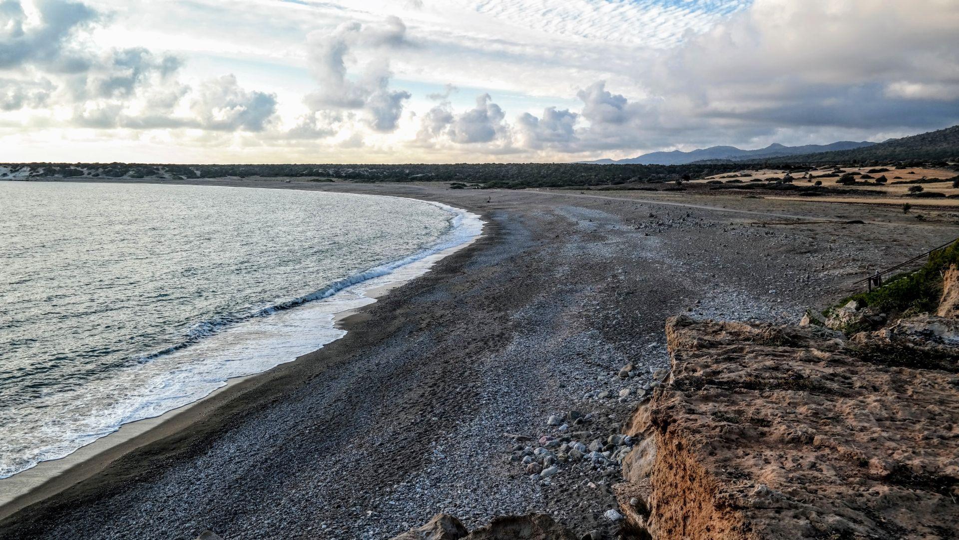 Cypr - Zatoka Lara Beach