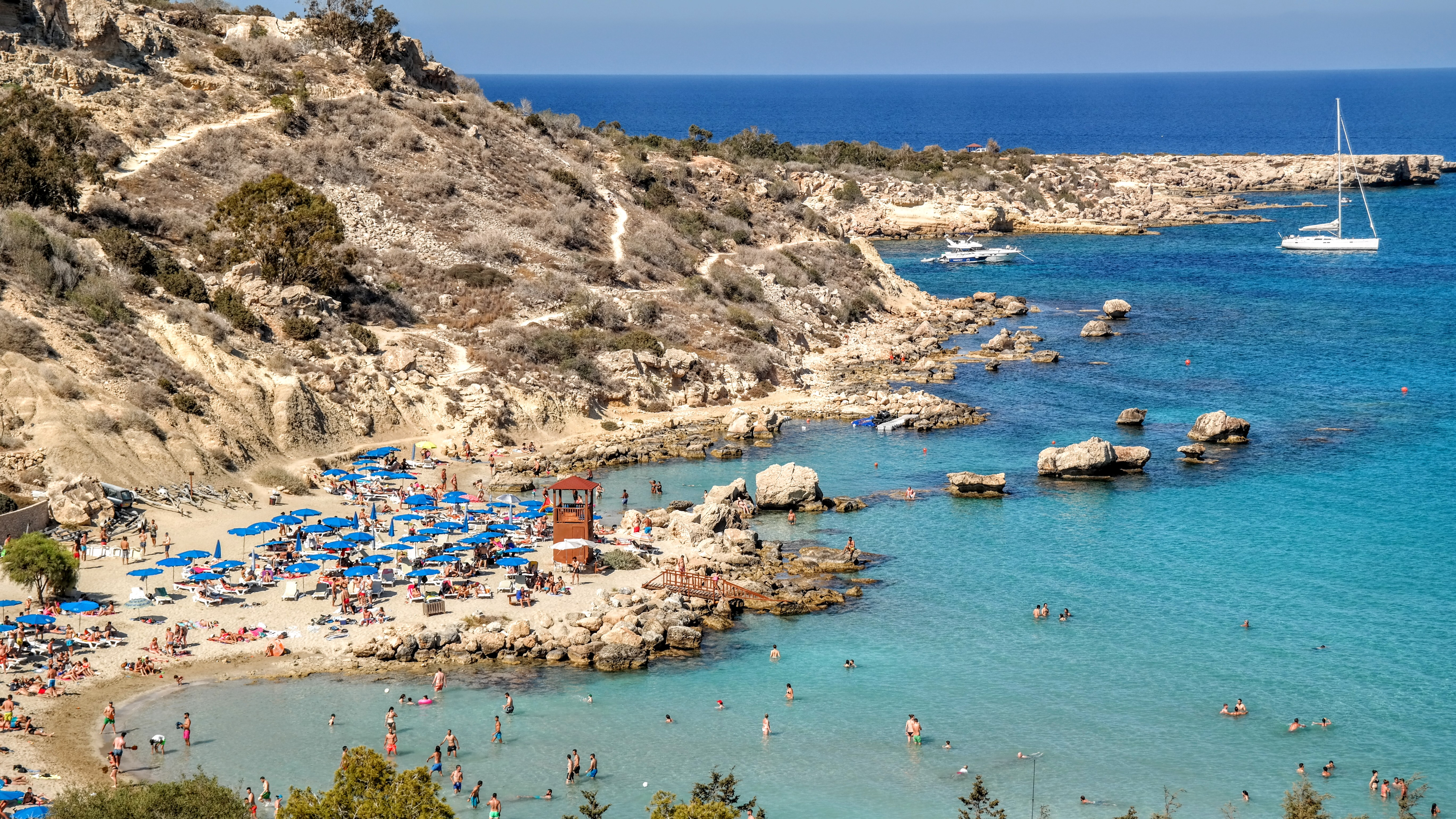 Cypr-Zatoka Konnos