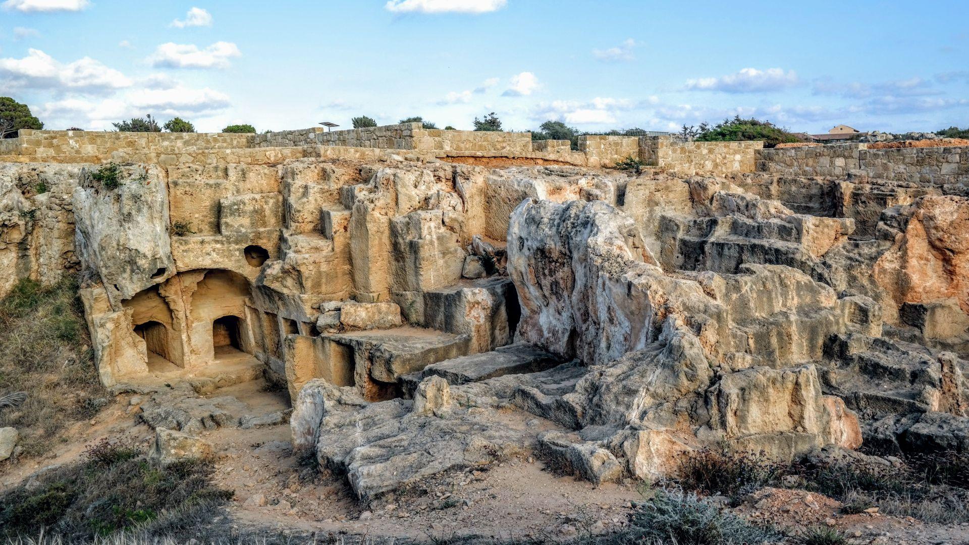 Cypr - Grobowce Królów