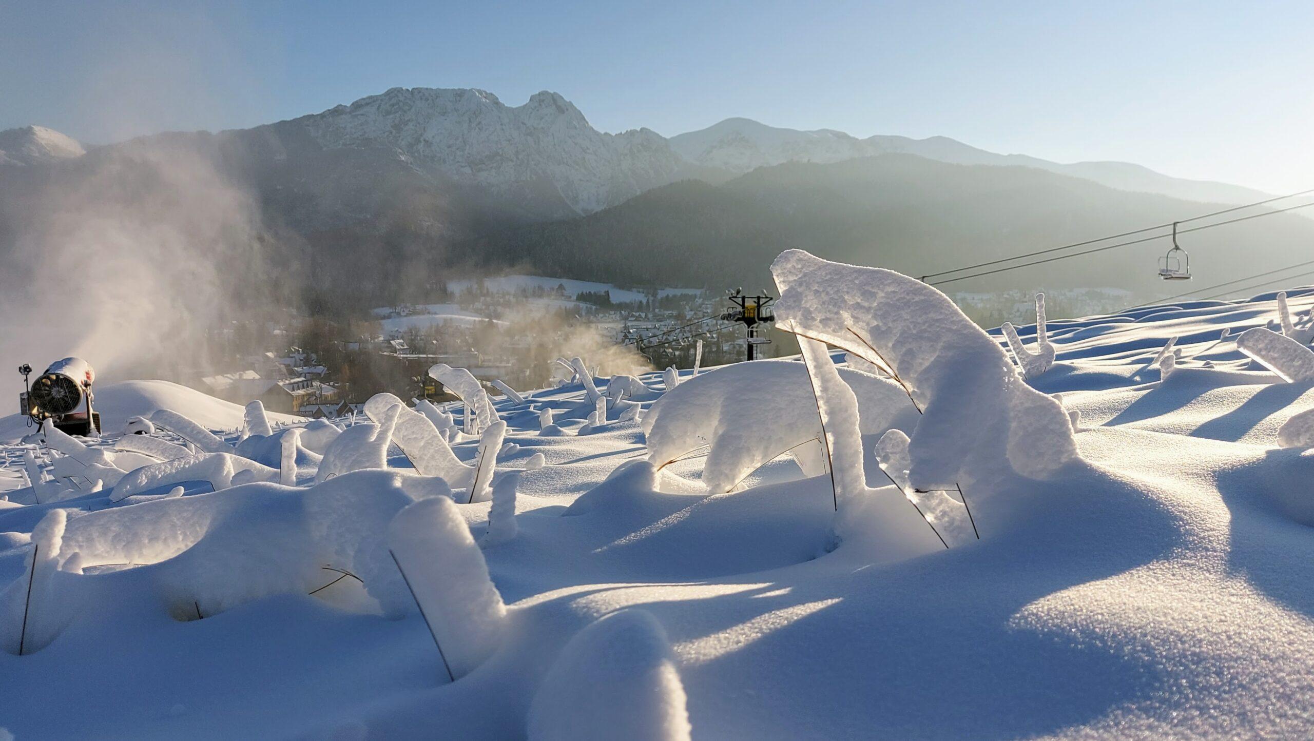 Uroki tatrzańskiej zimy.